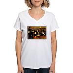 Staal Women's V-Neck T-Shirt