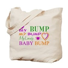 My Lovely Baby Bump Tote Bag