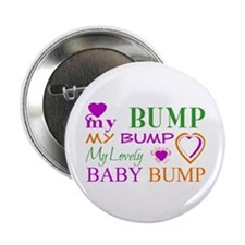 "My Lovely Baby Bump 2.25"" Button"
