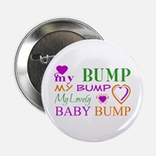 """My Lovely Baby Bump 2.25"""" Button"""