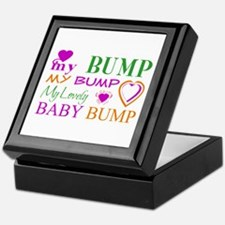 My Lovely Baby Bump Keepsake Box