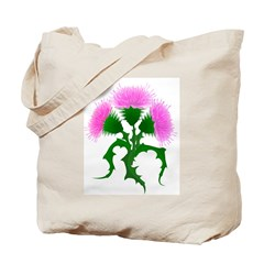 Scotch Thistle Tote Bag