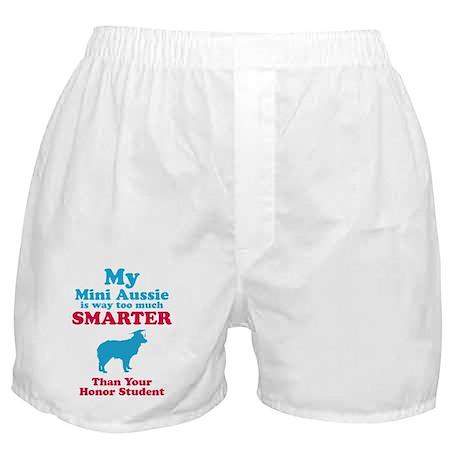 Miniature Australian Shepherd Boxer Shorts