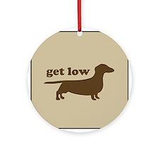 Get Low Keepsake (Round)