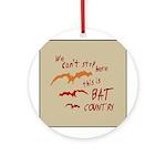 Bat Country Keepsake (Round)