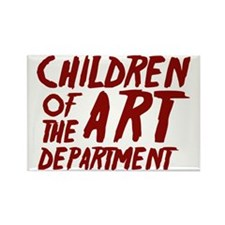 Children of the Art Departmen Rectangle Magnet