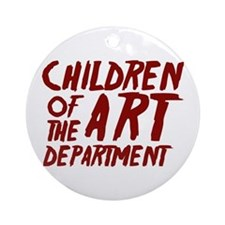 Children of the Art Departmen Ornament (Round)