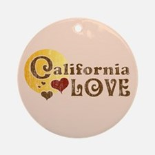 California Love Keepsake (Round)