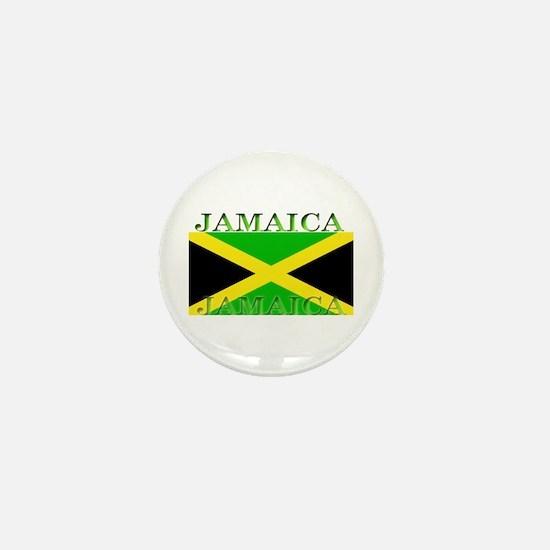 Jamaica Jamaican Flag Mini Button