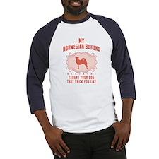 Norwegian Buhund Baseball Jersey