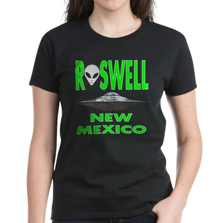 'Roswell New Mexico' Women's Dark T-Shirt