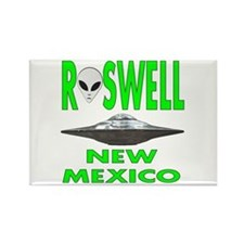 'roswell New Mexico' Rectangle Magnet Magnets