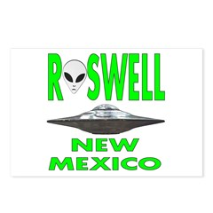 'Roswell New Mexico' Postcards (Package of 8)