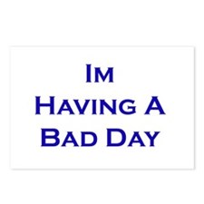 I'm Having A Bad Day Postcards (Package of 8)
