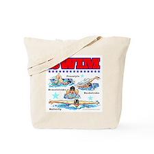 Swimming (M) Tote Bag
