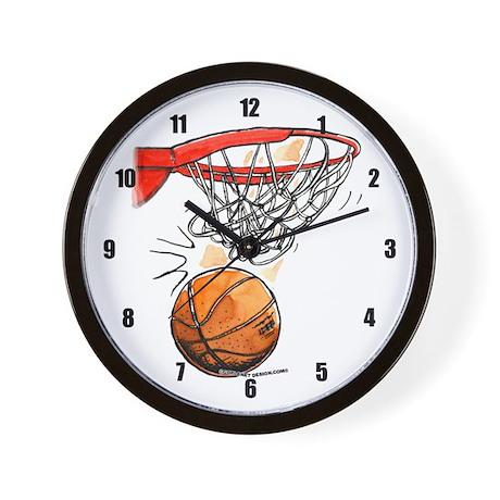 Swoosh Wall Clock