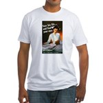 Be A Nurse Fitted T-Shirt