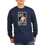 Be A Nurse (Front) Long Sleeve Dark T-Shirt