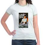 Be A Nurse (Front) Jr. Ringer T-Shirt