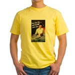 Be A Nurse (Front) Yellow T-Shirt