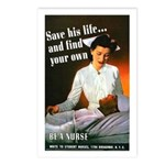 Be A Nurse Postcards (Package of 8)