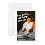 Be A Nurse Greeting Cards (Pk of 20)