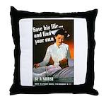 Be A Nurse Throw Pillow