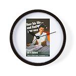 Be A Nurse Wall Clock