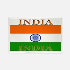 India Indian Flag Rectangle Magnet