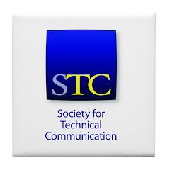 STC New Logo Tile Coaster