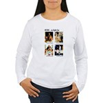 Freedom to Fight For (Front) Women's Long Sleeve T