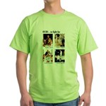 Freedom to Fight For (Front) Green T-Shirt