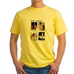 Freedom to Fight For (Front) Yellow T-Shirt