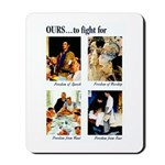 Freedom to Fight For Mousepad