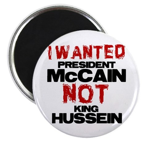 "I wanted McCain! 2.25"" Magnet (100 pack)"