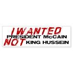 I wanted McCain! Bumper Sticker (10 pk)