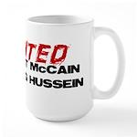I wanted McCain! Large Mug