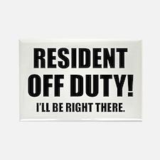 Residency Humor Rectangle Magnet