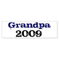Grandpa 2009 Bumper Bumper Sticker