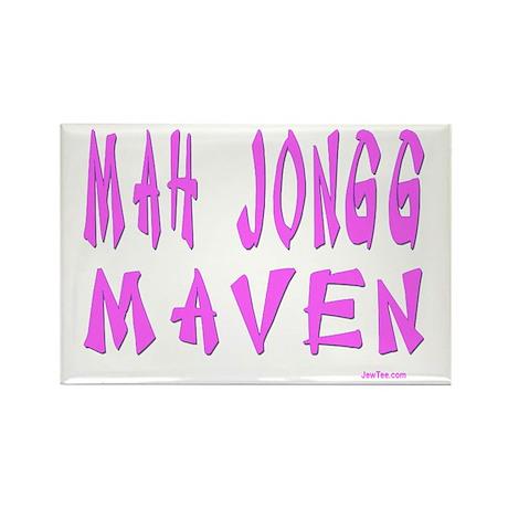 MAH JONG MAVEN Rectangle Magnet