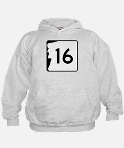 Route 16, New Hampshire Hoodie