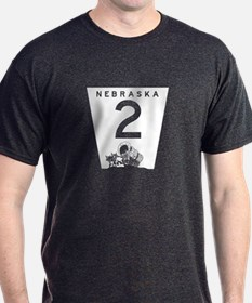 Highway 2, Nebraska T-Shirt