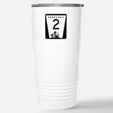Highway 2, Nebraska Travel Mug