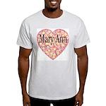 Mary Ann Ash Grey T-Shirt