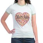 Mary Ann Jr. Ringer T-Shirt
