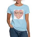 Mary Ann Women's Pink T-Shirt