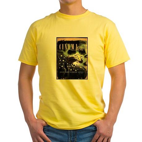 Katharine Hepburn Yellow T-Shirt