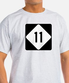 Highway 11, North Carolina T-Shirt