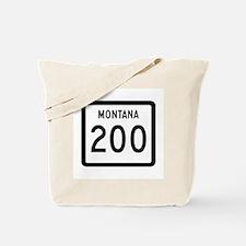 Highway 200, Montana Tote Bag