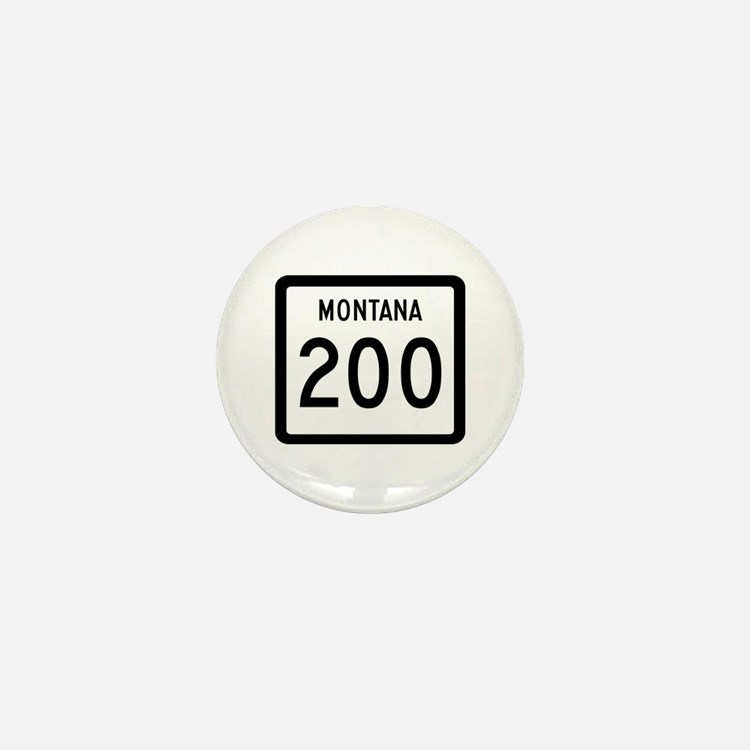 Highway 200, Montana Mini Button (10 pack)